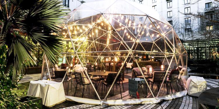 La bulle d'hiver du Jardin Privé, Salle de location Paris-1ER-Arrondissement Les Halles #0