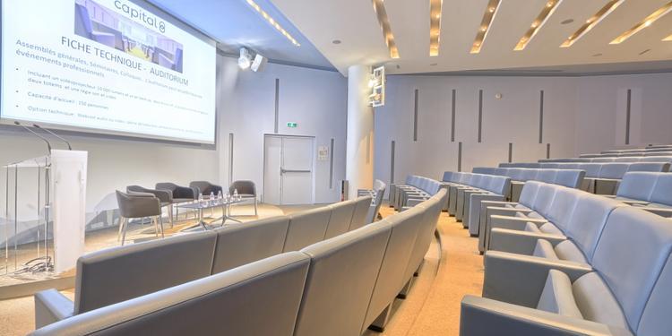 Centre de conférence capital 8 : auditorium, Salle de location Paris Monceau #0