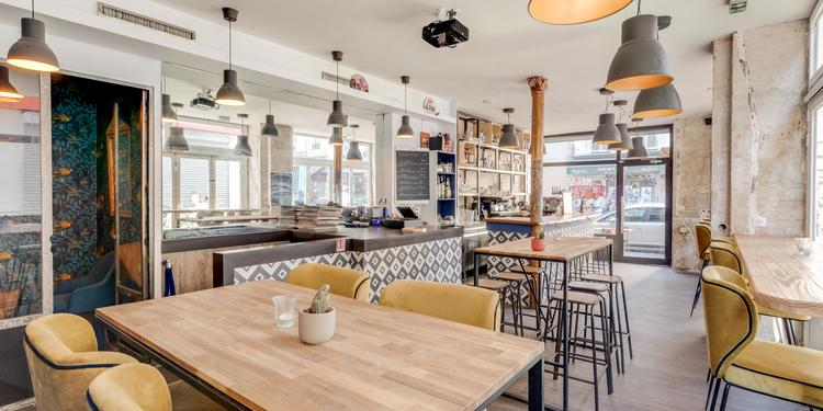 Magasin, Bar Paris Belleville #0