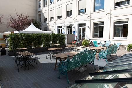 Creatis : La Terrasse, Salle de location Paris Folie-Méricourt #0