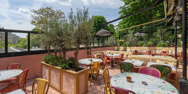 La Gare Restaurant, Salle de location Paris La Muette #0