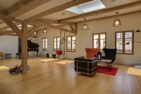 Blue Shaker : Penthouse, Salle de location Paris Parc Monceau #0
