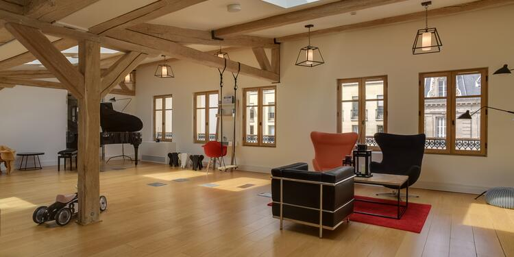 Blue Shaker : Penthouse, Salle de location Paris Parc Monceau #0