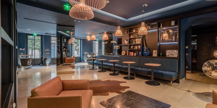 Blue Shaker : Lobby, Salle de location Paris Parc Monceau #0