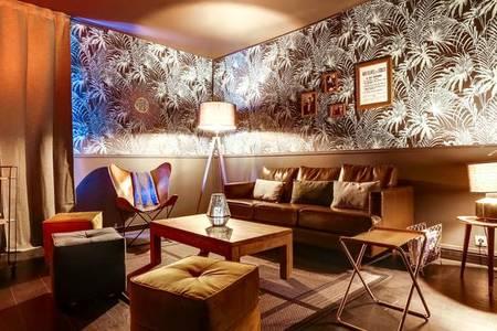 Le Bureau, Bar Paris Buttes Chaumont #0