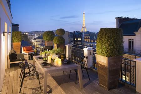 Suite Marignan Eiffel, Salle de location Paris Champs Elysées #0