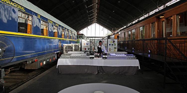 Museo del ferrocarril de Madrid, Sala de alquiler Madrid Delicias #0