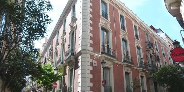 Palacio de Santoña, Sala de alquiler Madrid  #0