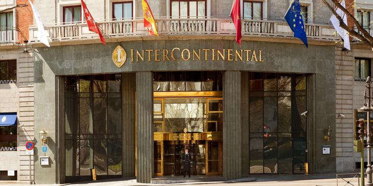 Hotel Intercontinental, Sala de alquiler Madrid La Castellana #0