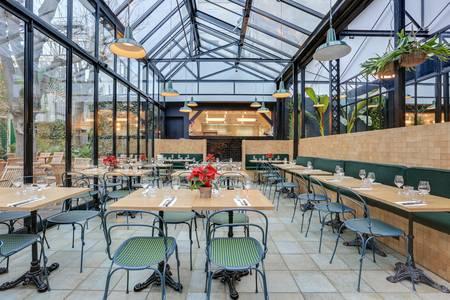 L'Entrepôt : Jardin Secret, Restaurant Paris Pernety #0