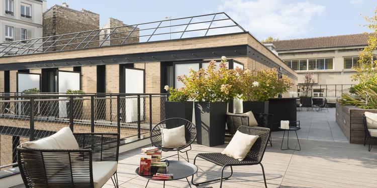 L'Imprimerie Hôtel **** : le rooftop, Salle de location Clichy Clichy #0