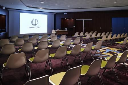 Hôtel Molitor Paris by McGallery : Manufacture / Lucien Pollet, Salle de location Paris Prince-Marmottan #0