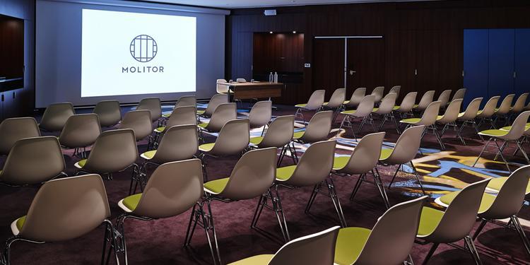 Hôtel Molitor Paris by McGallery : Manufacture / Lucien Pollet, Salle de location   #0