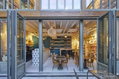 La Mouette Rieuse : Café Terrasse Galerie, Salle de location Paris Le Marais #0