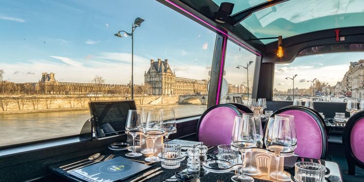 Le Bus Toqué, Restaurant Paris Concorde #0