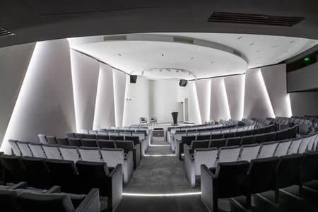 Verso : Auditorium + Atrium, Salle de location Paris  #0