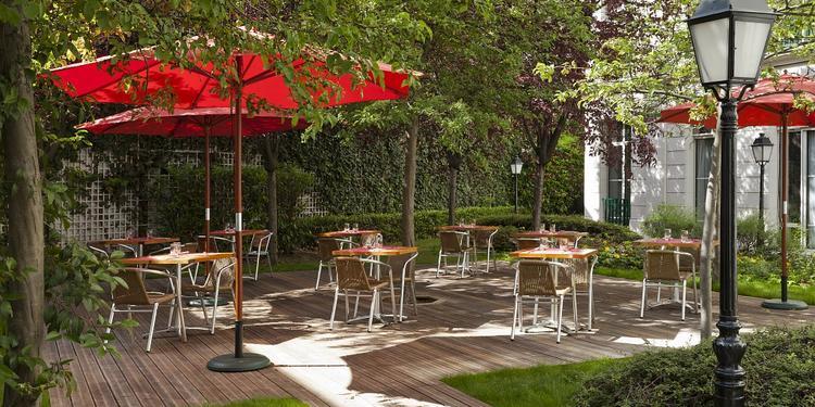 La Villa Modigliani *** : Jardin, Salle de location Paris Montparnasse #0