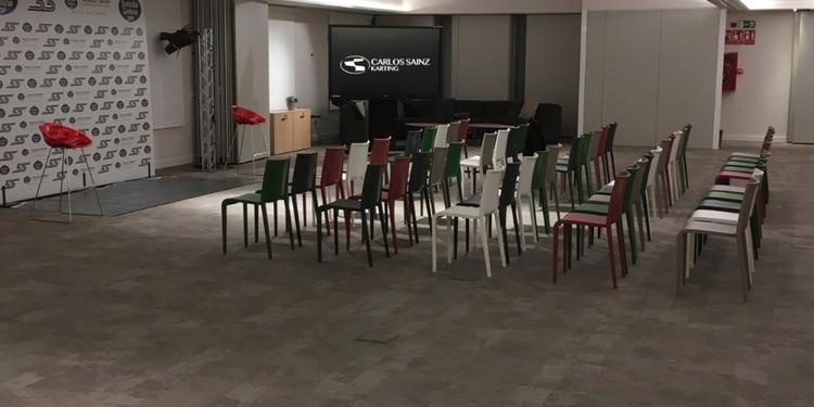 Carlos Sainz Center, Sala de alquiler Madrid La Ermita #0