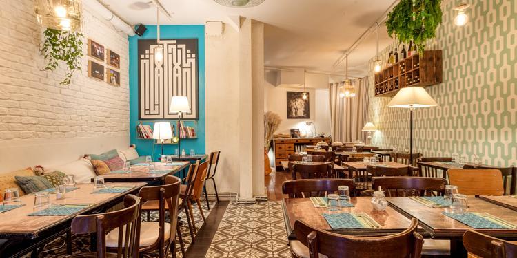 Maison Saint Maur, Restaurant Paris Folie-Méricourt #0