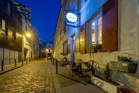 L'Astrolabe, Bar Paris Necker #0