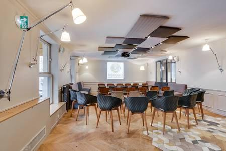 L'étage du Meriggio, Salle de location Paris Grands Boulevards #0