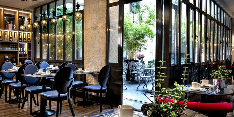 Hôtel Mademoiselle : le Salon Mademoiselle, Salle de location Paris Porte de Saint-Denis #0