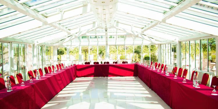Les Salons Hoche : La Terrasse, Salle de location Paris Parc Monceau #0
