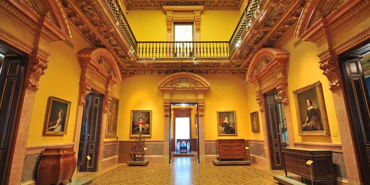 Museo Lázaro Galdiano, Sala de alquiler Madrid La Castellana #0