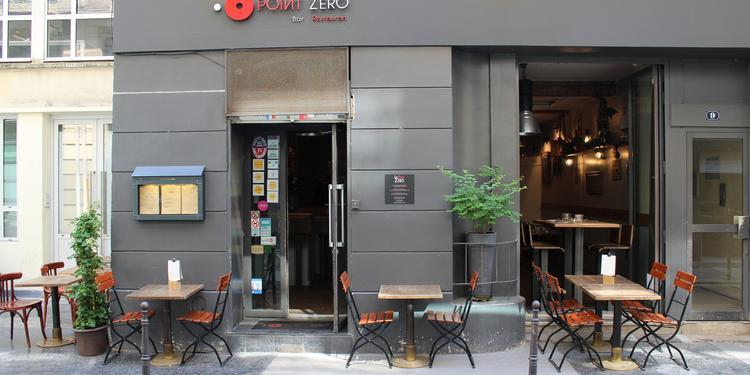 Le Point Zéro, Bar Paris Bourse #0