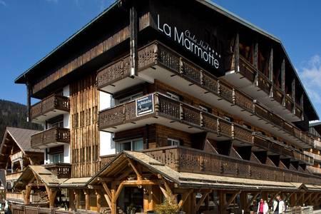 Chalet Hôtel La Marmotte, Salle de location Les Gets  #0