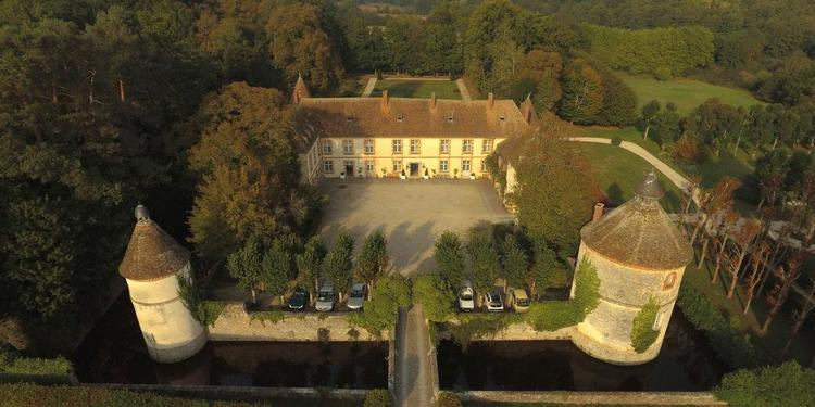 Château De La Cour Senlisse, Salle de location Senlisse  #0