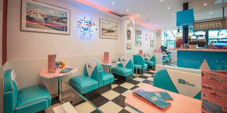 HD Diner Bastille, Bar Paris Bastille #0