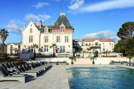 Domaine Saint Pierre De Serjac, Salle de location Puissalicon  #0