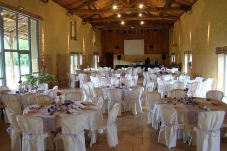 Ferme Du Tremblay, Salle de location Saint-Trivier-de-Courtes  #0