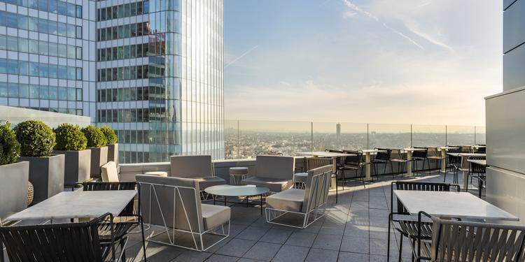 Hôtel Mélia **** : Le Skyline Paris Lounge & Bar, Salle de location Courbevoie La Défense La Défense #0