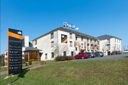 Hôtel Auberge De La Foresterie, Salle de location Le Mans  #0