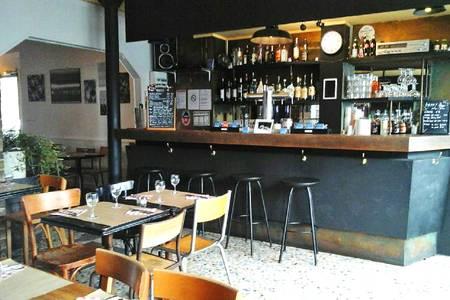 La Bicyclette café du coin (FERMÉ), Bar Paris Canal Saint-Martin #0