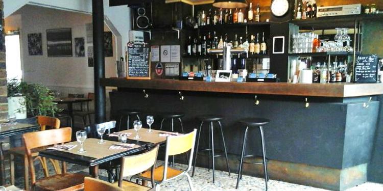 La Bicyclette café du coin, Bar Paris Canal Saint-Martin #0
