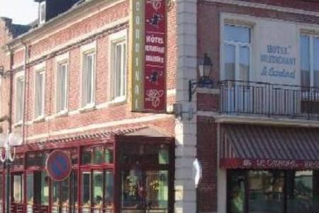 Hotel Restaurant Le Cardinal Poix De Picardie, Salle de location Poix-de-Picardie  #0