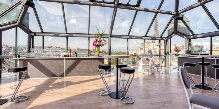 Le Rooftop Grenelle, Salle de location Paris Tour Eiffel #0
