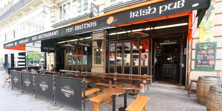 Le Mc Bride's Irish Pub, Bar Paris Châtelet #4