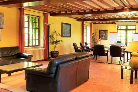 Le Moulin Du Béchet, Salle de location Croisy-sur-Eure  #0