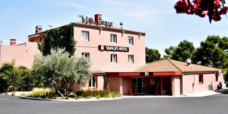 Le Qualys Hôtel Restaurant Le Mas De Grille , Salle de location Saint-Jean-de-Védas  #0