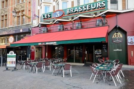 Les 3 Brasseurs, Restaurant Lille  #0
