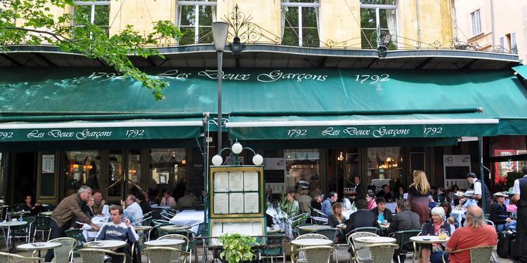 Les Deux Garçons, Restaurant Aix-en-Provence  #0