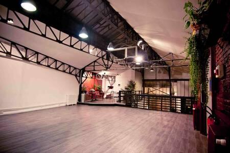 Loft Gambetta, Salle de location Paris Saint-Fargeau #0