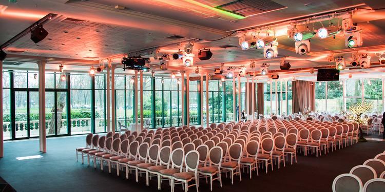 Le Pavillon d'Armenonville : le Salon Longchamp, Salle de location Paris Bois de Boulogne #0