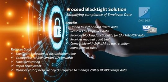 Proceed BlackLight for SAP HCM Compliance