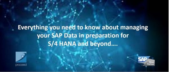 SAP Data Management for S/4 HANA