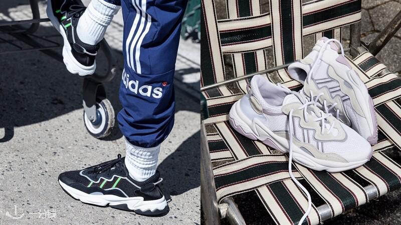 偷偷長高就靠這一雙!adidas Originals再推新款老爹鞋OZWEEGO,復古外型、螢光色三條線…球鞋控請小心荷包被燒到|